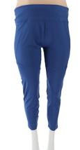 Tracy Anderson GILI Leggings Mesh Panels Deep Blue XXS NEW A309724 - $15.82