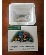 Dept 56 North Pole Accessory - Testing Video Games Is The Perfect Job!  - $29.69