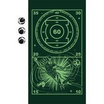 Green Lantern Large Felt Dartboard Game Hook Loop Stick On Throwing Game... - ₨1,027.21 INR