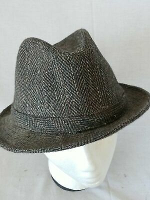 Dorfman Pacific Co. Gray Grey Fedora Hat