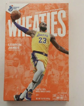SOLD OUT LEBRON JAMES Wheaties Box LA Lakers 15.6 oz Full Cereal Box - $19.24