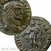 DIOCLETIAN, Genius Male figure. Rome mint Scarce Large Ancient Roman Emp... - $152.10