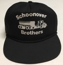 Vtg Schoonover Brothers Trapper Hat Trucking Transportation Cap Driving ... - $33.65