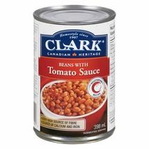 6 Clark Baked Beans with Tomato Sauce 398ml/14oz Canada ALWAYS FRESH  - $29.45