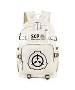 SCP Secure Contain Protect Beige Book Bag Notebook Backpack Knapsack Tra... - $47.84