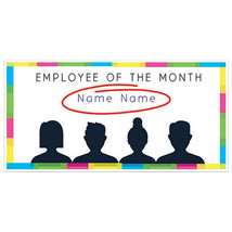 Colors Employee Of The Month Business Banner - $19.31+
