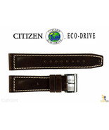Citizen Eco-Drive BM8478-01L 22mm Brown Leather Watch Band Strap R007726 - $84.95