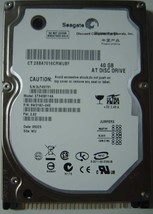 "New ST9408114A Seagate 40GB IDE 44pin 2.5"" 9.5mm Hard Drive Free USA Shipping"