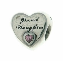 Authentic Pandora Charm Granddaughters Love 796261PCZ Grand Daughter - $22.99