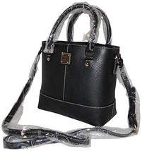 Dooney & Bourke Mini Chelsea Satchel Crossbody Black image 2