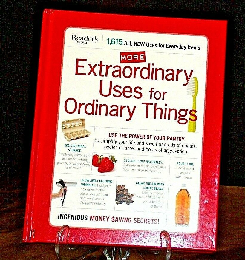 Hardcover Reader's Digest Extraordinary Uses for Ordinary Things AA20-2142