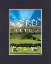 Inspirational Plaques  The Lord is my Shepherd  Psalms 23:1. . . 8 x 10 Inches B - $11.14