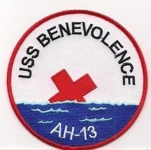 US Navy AH-13 USS Benevolence Hopital Ship Patch - $11.87