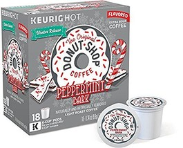 The Original Donut Shop Peppermint Bark Flavored Coffee 72 K-cups - $86.49