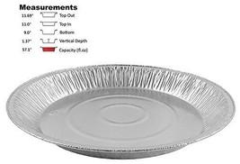 "Pactogo 12"" Aluminum Foil Pie Pan Extra-Deep Disposable Tin Plates Pack ... - ₹2,033.01 INR"