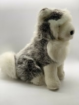 "Mary Meyer Plush Siberian Husky Dog Stuffed Animal Gray & White 10"" Toy - $14.36"