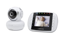 Motorola Camera Baby Monitor w/ LCD Screen Video Night Vision Room Tempe... - $128.95