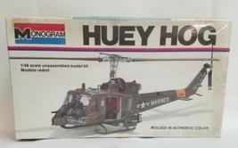 VINTAGE1977 MONOGRAM HUEY HOG MODEL HELICOPTER KIT #5201 - FACTORY SEALED - $29.70