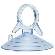 Clear Plastic Suction Cups with Loops - 4.5 cm 1.75 in Wide, Set of 10, For Glas image 3