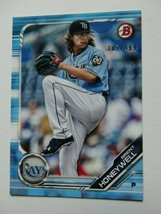 2019 Bowman #BP-88 Brent Honeywell Tampa Bay Rays Sky Blue Baseball Card... - $3.99