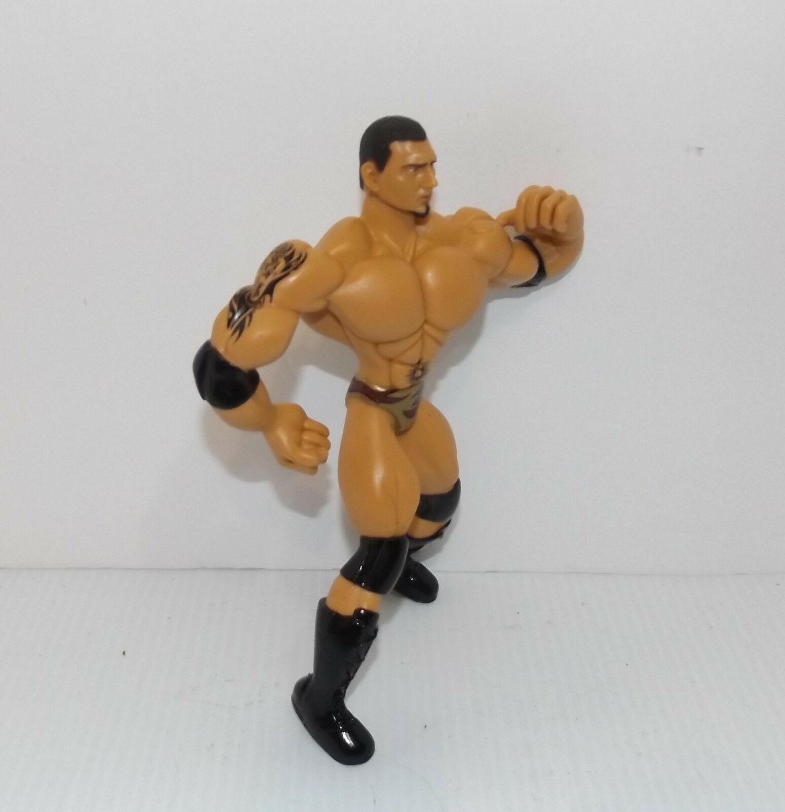 "2003 Jakk's Pacific Flex'ems ""Batista"" Poseable Action Figure WWE [991]"