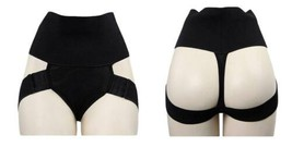 NEW WOMEN'S FULLNESS BUTT LIFTER TUMMY SLIMMER SHAPEWEAR PANTY BLACK #8011