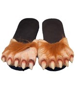 WERE WOLF MONSTER FEET LARGE SIZE dressup halloween costume big shoes fo... - $9.45