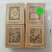 Stampin Up Forest Creatures Stamp Set, EUC 4 Stamps - $11.26
