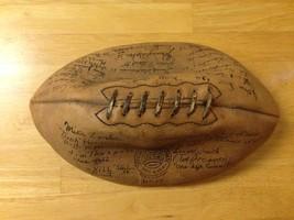 Signed by 40 celebs & athletes 1930s Vintage Spalding J5 collegiate foot... - $4,590.00