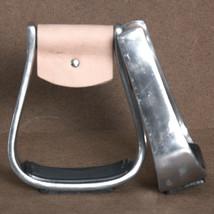 Hilason Aluminum Western Horse Saddle Stirrups Foot Grip U-2714 - $34.95