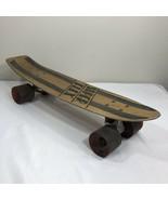 Vintage Skateboard Super Flex Superflex Aluminum Deck C5000 Wheels 70s 8... - $206.99