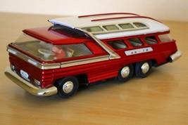 Vintage metal toy car length 30cm, width 12cm, height 11cm - $89.09