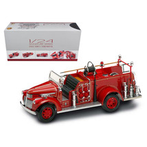 1941 GMC Fire Engine Red with Accessories 1/24 Diecast Model Car by Road Signatu - $114.93