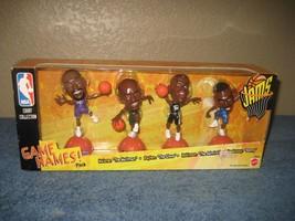 NBA Court Collection Game Names! Pack Mattel 1999 Malone Payton Robinson... - $10.35