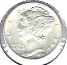 Nice 1942 P Mercury Dime - $4.00