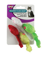 Ethical Assorted Plush Mice 4 Pack 077234020241 - $15.67
