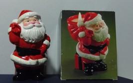 """AVON """"Ho Ho Glow"""" Ceramic Candle Holder - $12.99"""