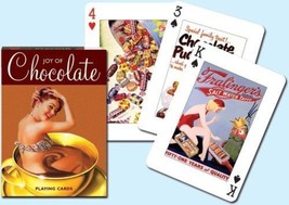 Joy of Chocolate Deck of Playing Cards Each Card Different by Piatnik Se... - $9.05