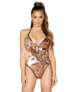 Reverse Sequin Desert Goddess Rave Bodysuit Rave Festival Sexy Club Clot... - $65.99
