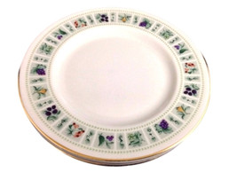 4 Vintage Royal Doulton China Dessert or Bread and Butter Plates, Tapest... - $39.99