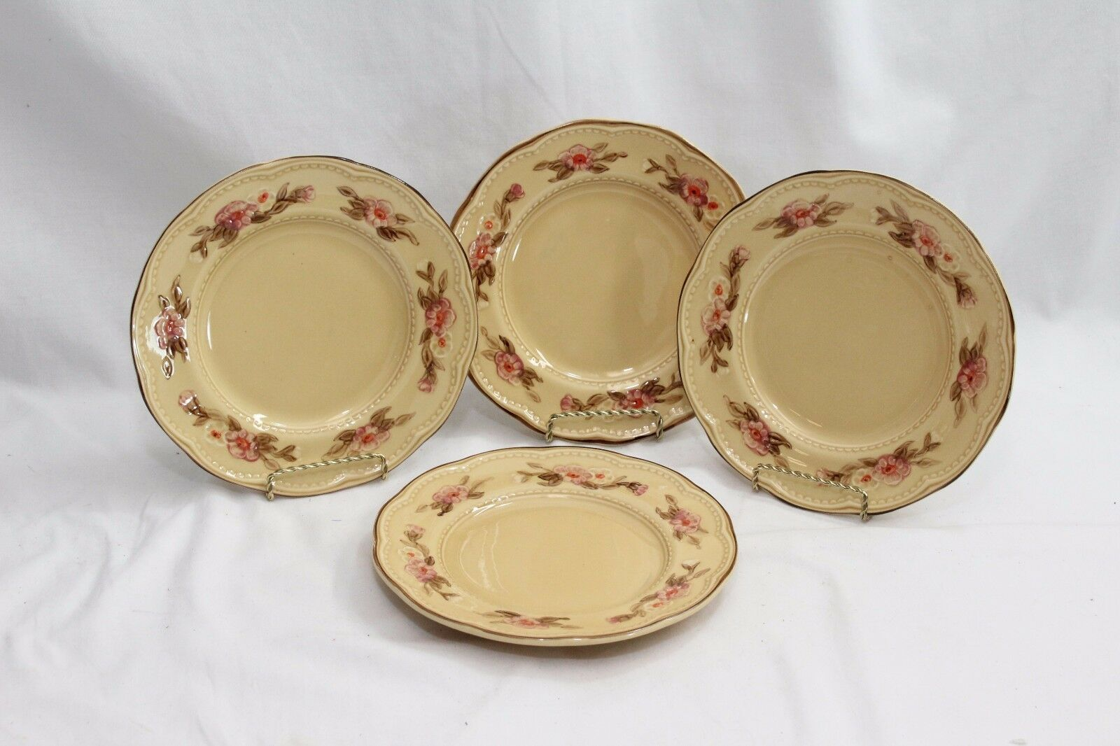 Franciscan Rosette Salad Plates and Soup Cereal Bowls Set of 8