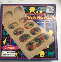 Junior Mancala Animal Colored Jewels Instructions Game of Strategy Compl... - $14.85