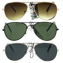 Kids Size Boys Classic Pilot Aviator Metal Rim Police Style Sunglasses - $9.95