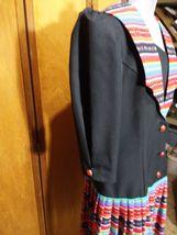 Eileen Scott Dallas Dress Size 8 Multi-Colored Vintage  image 6