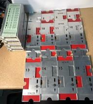J-R Official Aluminum Duplicate Bridge BoardsVintage Set A,B,C,D 1 to 1... - $25.73