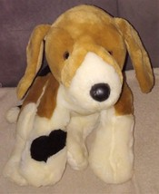 "Build A Bear Beagle BUSTER Brown White Black 14"" PUPPY DOG Plush 16"" - $24.96"