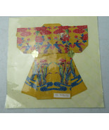 Vintage Play Handkerchief Origami  kimono Dress Made In Japan - $15.00