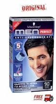 Schwarzkopf Men Perfect For Men Professional Hair Color Gel - Natural Black 90 - $19.77
