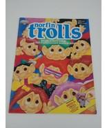 Vintage 1992 Diamond Norfin Trolls Sticker Activity Album Doll Book - $12.19
