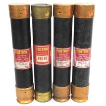 LOT OF 4 COOPER BUSSMANN FUSETRON FUSES FRS40, FRS-R-45, FRS-R-50
